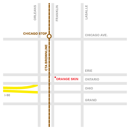 Map to Orange Skin