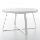 Mesa Alta Circular Flat Dining Table